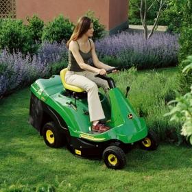 Les tracteurs de jardin privés